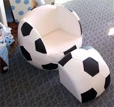 baseball chair with ottoman soccer ball chair and ottoman purple pumpkin gifts soccer ball chair and