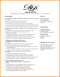 Human Rights Resume Sample Format Skills Section Resume Krida 21