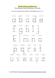 Ideas About Printable Alphabet Handwriting Worksheets, - Easy ...