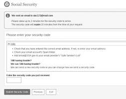 An To Create Account - Online Security My Social How