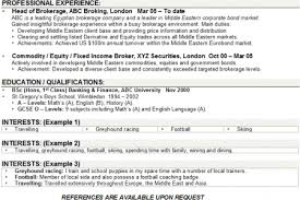 Electrician Resume Interests Reentrycorps