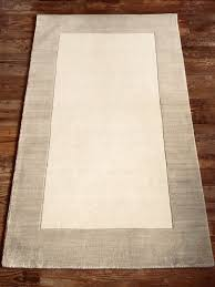 brand new pottery barn henley rug ivory 3 x 5 coffee table rug 100 wool plush soft farmhouse