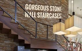 5 gorgeous stone wall staircases