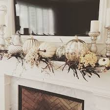 for affordable yet glam fall decor you don t anything besides simple pumpkins candlesticks