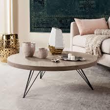 newest safavieh coffee tables within safavieh mansel light grey black coffee table free