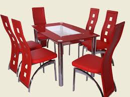 Red Dining Room Chairs Kitchen Chairs Red Dining Room Furniture Sets
