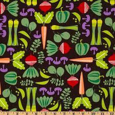 23 best fab fabrics images on Pinterest | Discount designer ... & Michael Miller Retro From the Garden Cocoa - Discount Designer Fabric -  Fabric.com Adamdwight.com