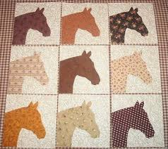 Set of 9 Western Horse Head Quilt Top Blocks. $12.95, via Etsy ... & Set of 9 Western Horse Head Quilt Top Blocks. $12.95, via Etsy. Adamdwight.com
