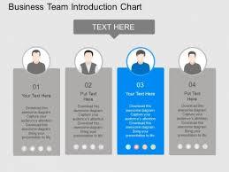 Team Chart Template Business Team Introduction Chart Powerpoint Template