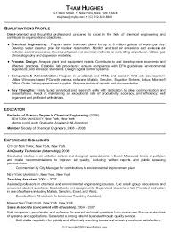 Ideas Of Entry Level Chemical Engineer Resumes About Reference