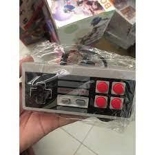 Tay game USB có dây Điều Khiển Tay Cầm Chơi Game PC/USB/NES Máy Tính Video  Game Tay Cầm Retro USB NES