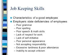 good job skills inspiration what are good job skills health occupations ppt video