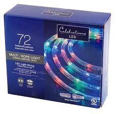 Celebrations Led Rope Light Amazon Com Celebrations 2t41a215 Led Rope Christmas Light