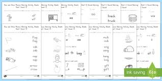 These are phonics worksheets for 2nd grade level 1, phonics worksheets: Rise And Shine Phonics Activities Short Vowel Sounds
