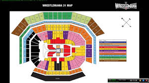 Wrestlemania 36 Seating Chart Wrestlemania 31 Seating Chart Presale Code