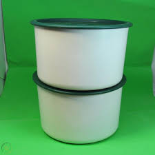 Tupperware small canister scoop with handle classic sheer white. Vtg Tupperware Coffee House Canister Set 2709a Green Seals Lids Filters Coffee 1895234642