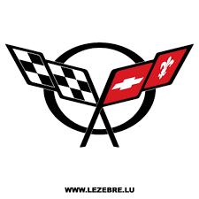 Sticker Chevrolet Corvette Logo