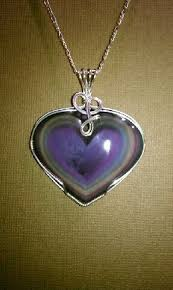 rainbow obsidian heart necklace in sterling silver wire wrap see more of his stunning jewelry collection on facebook armando j that s a wrap