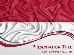 Powerpoint Bg Indonesia Flag Powerpoint Template Presentationgo Com
