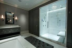 walk in shower lighting. Shower Lighting Ideas Bathroom Contemporary With Tufted Bench Walk In