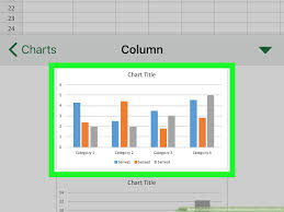 How To Create A Stacked Bar Chart In Excel On Iphone Or Ipad