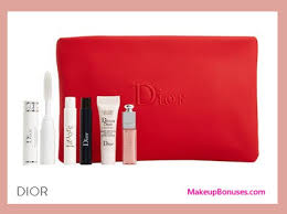 receive a free 6 pc gift with your 150 dior beauty purchase