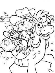 Happy Birthday Dora The Explorer Coloring Pages Lovely Frisch Inside