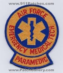 Air Force Paramedic Air Medical Ems Rescue Patches Air Force Emergency