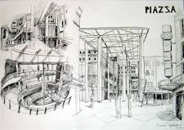 architectural buildings sketches. Contemporary Buildings Sketch Works Modern Style Architectural Buildings And Sketches