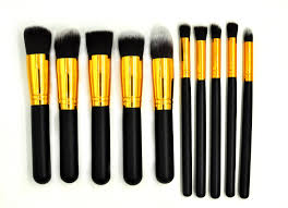 premium synthetic kabuki makeup brush