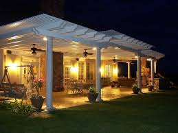 patio cover lighting ideas. Would Love To Add More Shade The Small Patio By Extending It Out With This Cover Lighting Ideas G