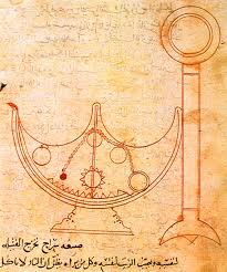 drawing of self t l in ahmad ibn mūsā ibn shākir s treatise on mechanical devices the mcript was written in arabic the book