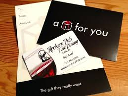 restaurant gift certificates gift card photo restaurant gift certificates san francisco