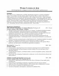 Sample Executive Assistant Resume Interesting Template Sample Administrative Assistant Resume Template