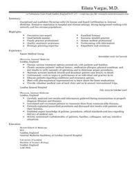 Medical Physician Cv Example Cv Samples From Mcv Medical School Mcw Mcwedu  Andrew Schmidt Cv