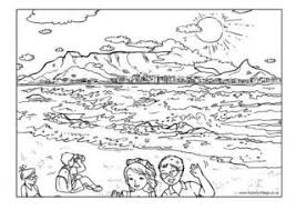 Small Picture South Africa Colouring Pages for Kids