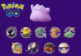 Pokemon Go Shiny Pokemon Transform into Shiny Ditto