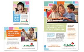 Childcare Flyers Child Care Flyers Templates Design Examples