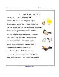 2Nd Grade Poem Worksheets Worksheets for all | Download and Share ...