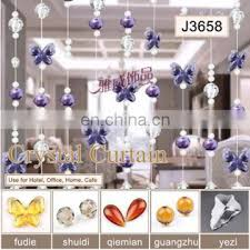 2017 fashion office types diy decorative crystal beaded curtain