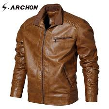 s archon winter tactical pu leather jacket men er military jacket army pilot jacket casual windproof motorcycle coat us size malaysia