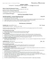Mba Resume Template Harvard Harvard Resume Samples Rio Ferdinands