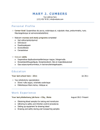 Phlebotomy Resume Templates Download 10 Professional Phlebotomy Resumes  Templates Free Free