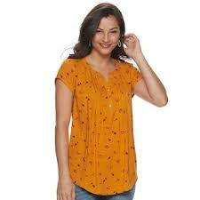Plus Size Evri Sunny Days Outfit Women Tees Womens Size