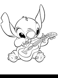 Small Picture Kids N Fun 16 Coloring Pages Of Lilo And Stitch Fun Coloring Pages
