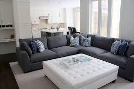 Decorating An Ottoman With Tray Glamorous ottoman traysin Contemporary Toronto with Pretty L Shaped 40