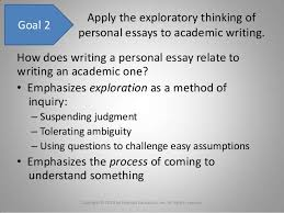 chapter writing a personal essay 7