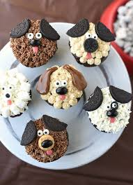 Cute Puppy Cupcakes For Kids Birthdays Fun Squared