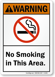 No Smoking Signage Ansi No Smoking Signs Ansi Compliant No Smoking Signs