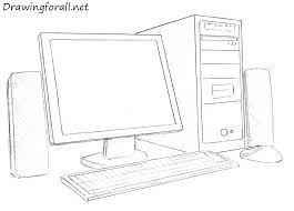 picture of a computer how to draw a computer drawingforall net